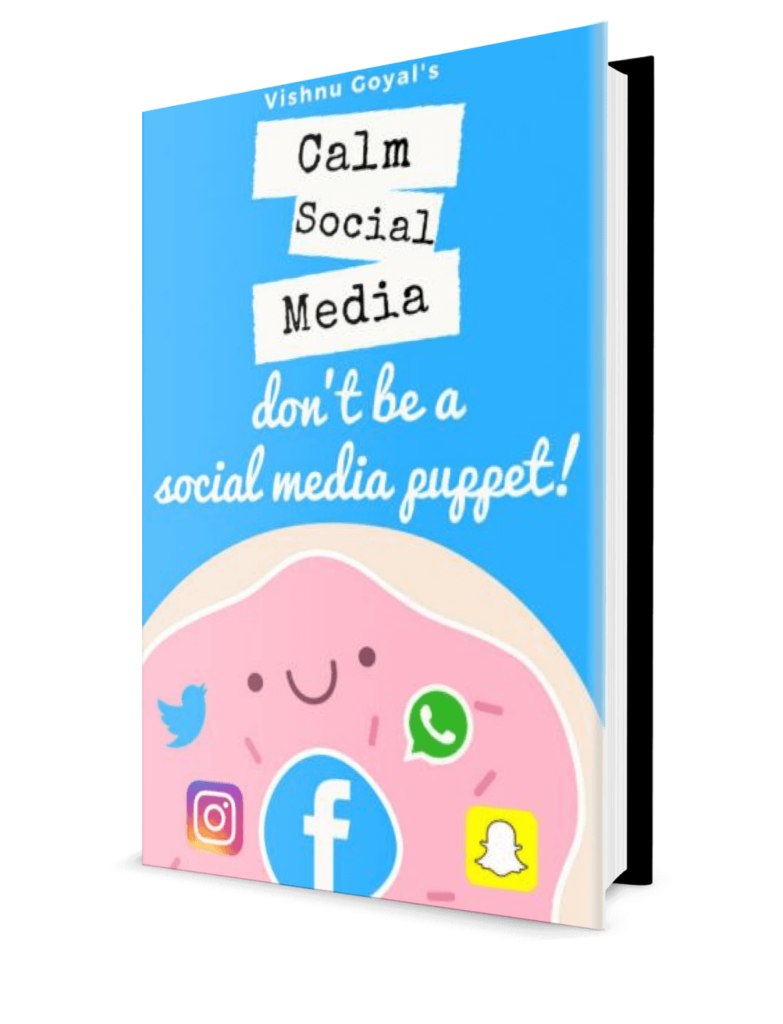Calm Social Media Book by Vishnu Goyal