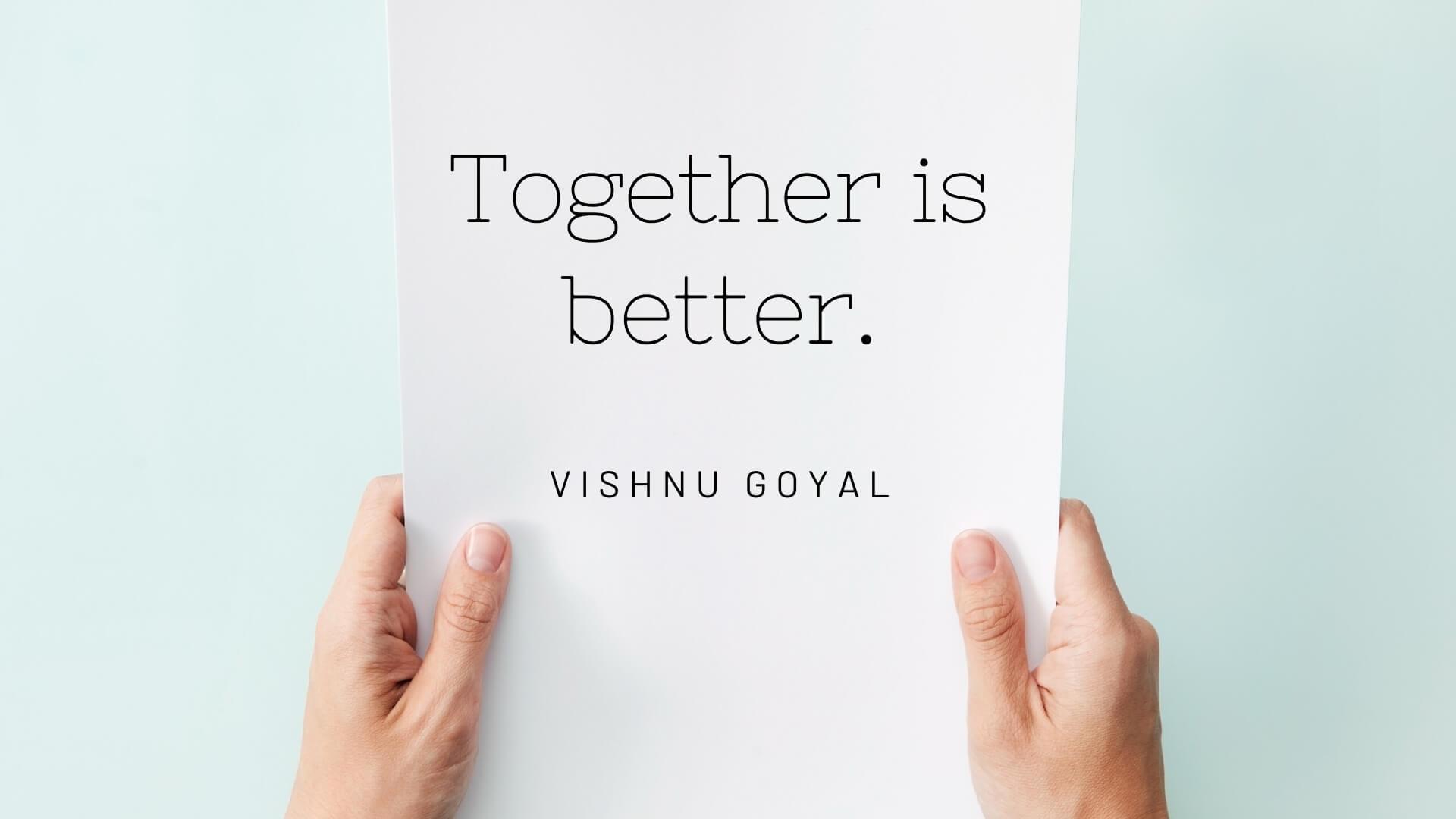 Contact Vishnu Goyal
